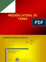 Presion Lateral de Suelos 2