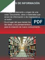 Fuentes de Informacion01