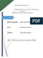 Analisis de Conjunto de Camara