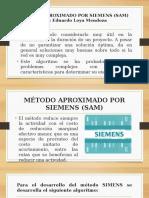 Conceptos Relaciones Métodos Tiempo Costo y Siemens SAM v2
