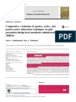 Comparative Evaluation of Passive, Active, And Pasive-Activa Distraction