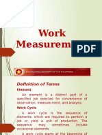 Work Measurement 2