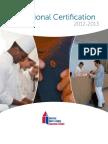 ProfessionalCertification Catalog