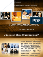 Sesion 02 Clima Organizacional