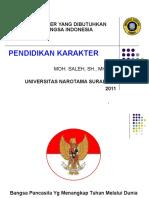 Karakter Yang Dibutuhkan Bangsa Indonesia 13