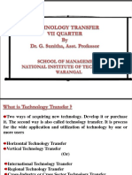 Technology Transfer