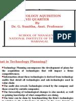Technology Aquisition