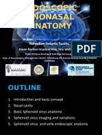 Sinonasal Anatomy AA SBY 2017