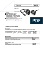 Omron E6CP AG5C C Datasheet