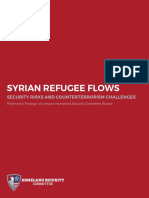 HomelandSecurityCommittee Syrian Refugee Report