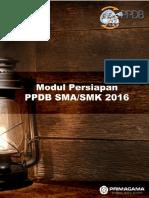 Modul Persiapan Ppdb SMA 2016