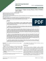 Prevalence and Risk Factors of Verruca Vulgaris Among Primary School Childrenin Madinah and Jeddah Saudi Arabia 2155 9554 1000381