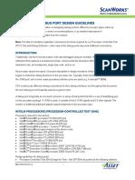 Debug Port Design Guidelines
