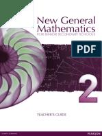 New General Mathematics for Secondary Schools 2 TG Full PDF