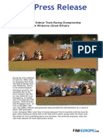 133 2017 European Sidecar Track Racing Championship at Winborne Great Britain