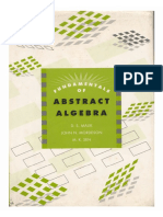 Fundamentals of Abstract Algebra - Malik, Mordeson, Sen [McGraw-Hill, 1997]