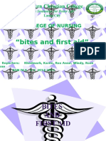 Bites and Firstaid