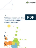 Tableu Visualization Training