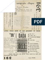 391 (Ed Francis Picabia) No14 Nov 1920