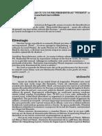 Originea şi evoluţia istorică a Primăriei.docx