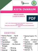 Laporan Jaga Melvy Roza - Torsio Kista Ovarium / kista ovarium terpuntir