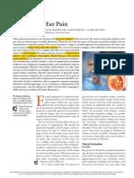 Diagnosis of Ear Pain