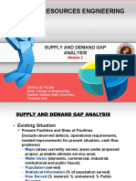 2. Supply and Demand Gap Analysis
