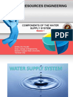 1. Components of Water Supply System