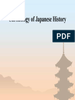 A Chronology of Japanese History