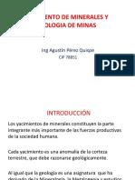 Yacimiento de Minerales y Geologia de Minas Una Punoi