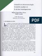 Información en Etnomusicologia