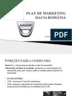 Plan de Marketing Dacia