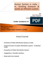 food security in food security hunger study of public distribution system in