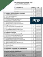 Cronograma disciplina Organização e Técnica Comercial