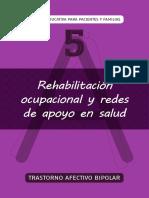 Rehabilitación ocupal y redes de apoyo en el trastorno afectivo bipolar.