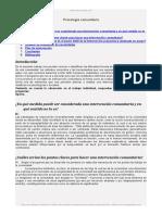 Metodos Intervencion y Evaluacion Comunitaria