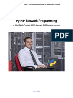Python Network Programming – Course Applications Guide