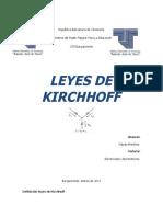 República Bolivariana de Venezuela LEY KIRCHHOFF