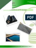 Especificacoes Tecnicas Geomembrana de PVC