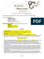 Special Event Contract Template PDF Format (1)