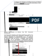 Documento Desclasficado evidencia la conexión entre Álvaro Uribe y el narcotráfico en Colombia 1991