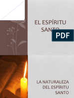 La Naturaleza Del Espíritu Santo