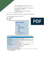 Procedura Configurare Cloud Conect – 3G