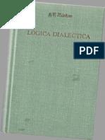 Ilienkov E v - Logica Dialectica