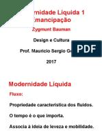 Modernidade Líquida 1