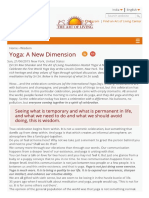 Yoga_ a New Dimension _ Art of Living India