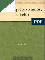 Platão, O Banquete