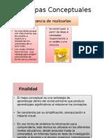 Diapositivas mapas Conceptuales