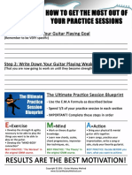 Ultimate Practice Session Blueprint