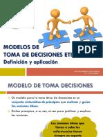Modelos de Toma de Decisiones